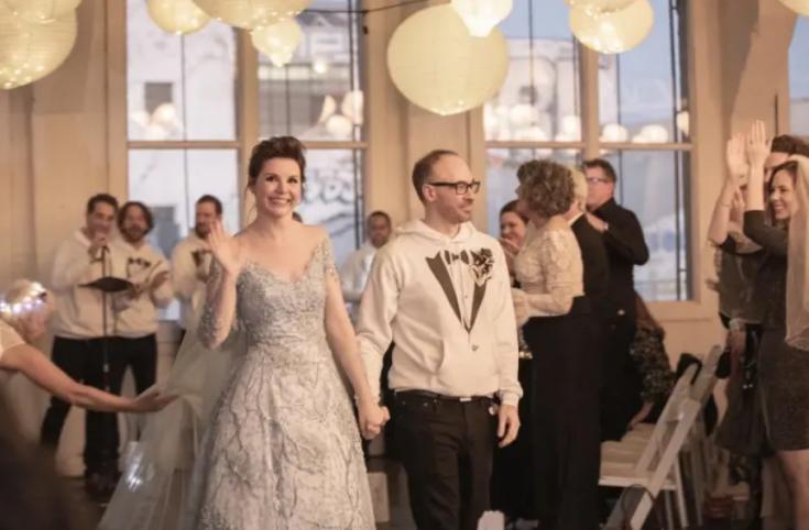 Свадьба Одри Мур