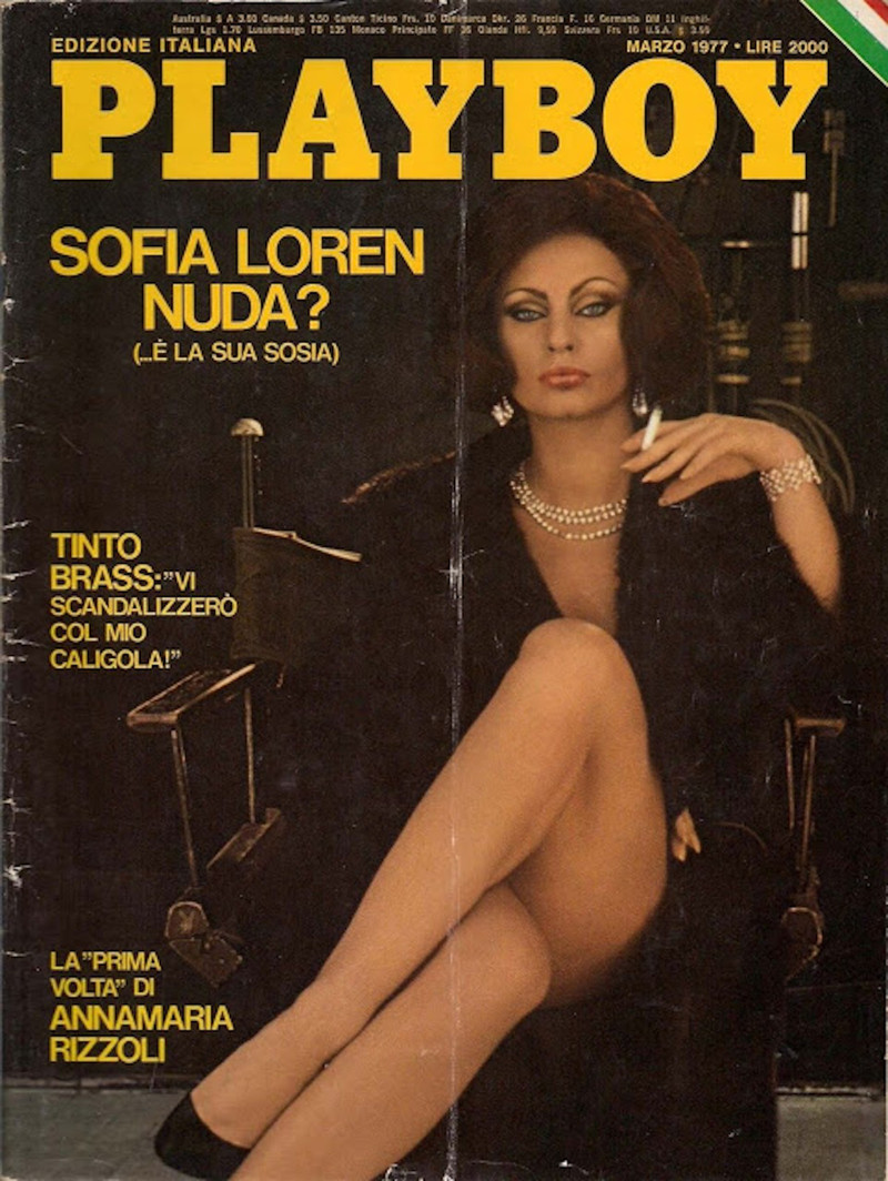Sophia Loren celebrities, playboy, ностальгия