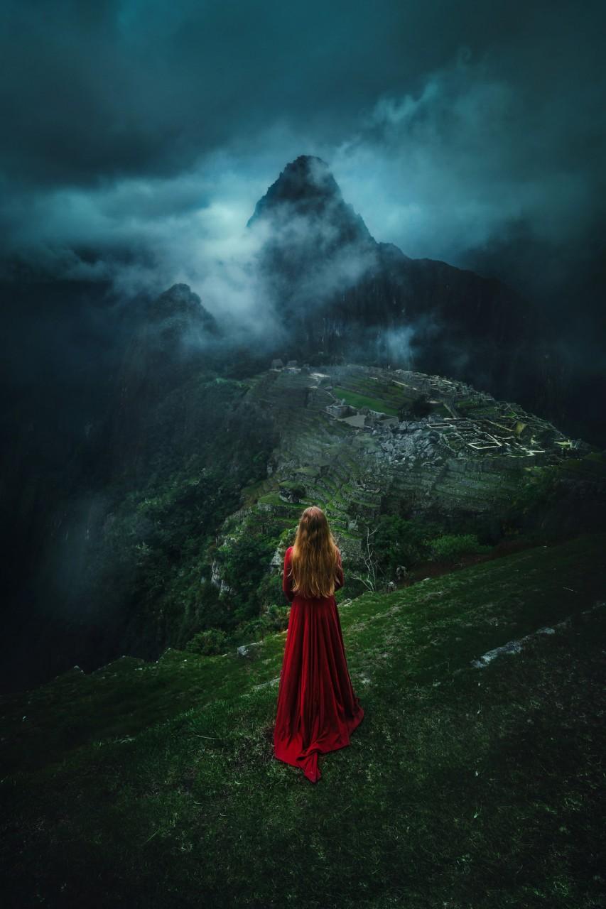 Другой примечательной особенностью этой южноамериканской страны оказалось богатство пейзажей девушка, красота, люди, перу, природа, путешествие, фотография