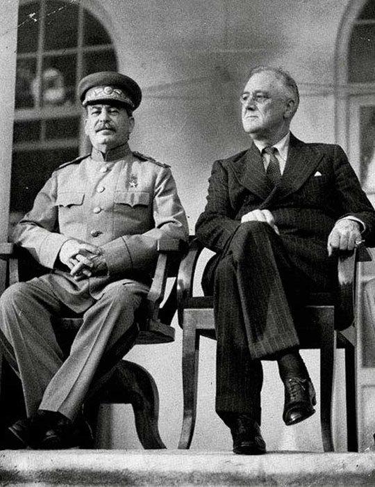 Тегеран-43: Сталин и Рузвельт