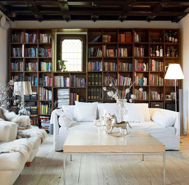 фото домашних библиотек