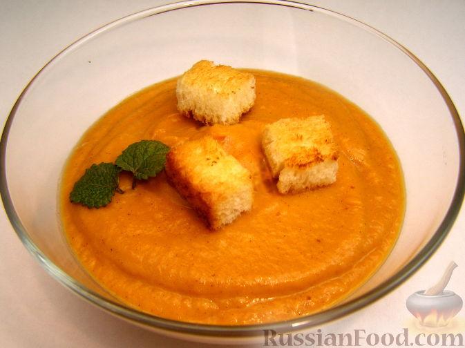 Фото приготовления рецепта: Сладкий тыквенный крем-суп с корицей - шаг №1