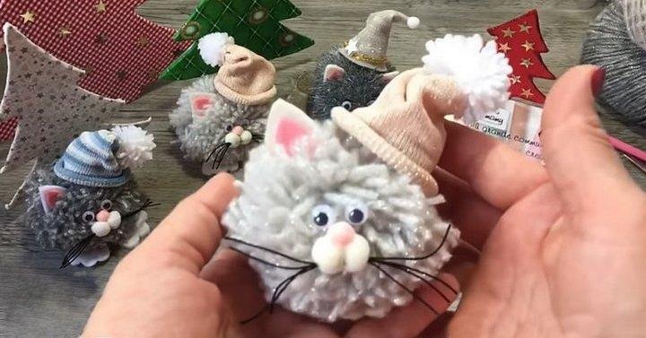 Очаровательные пушистые котя…