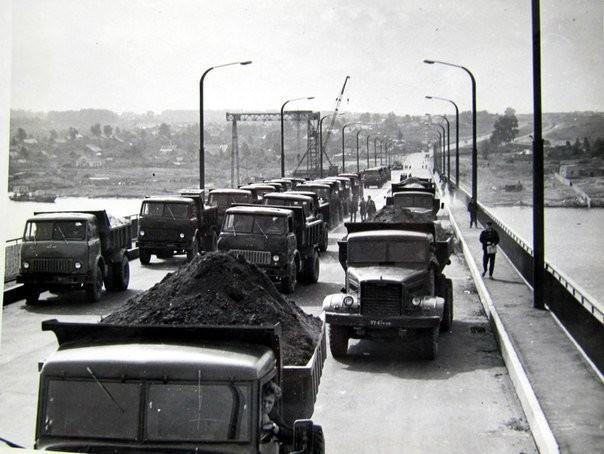 Сентябрь 1970 год.Открытие моста через реку Волгу. Город Кострома СССР, быт, воспоминания, ностальгия, фото