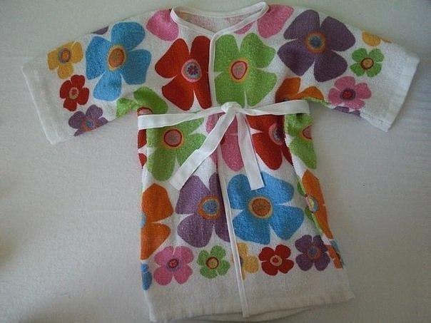 Банный халат ЛЮБЛЮ ШИТЬ 55