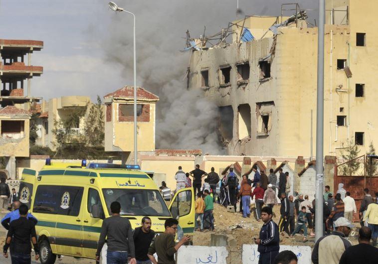 В Каире произошёл теракт у коптской церкви
