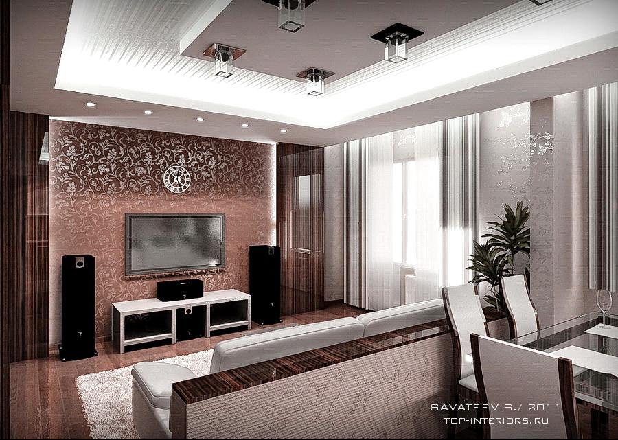 Дизайн интерьера - Дизайн-проект квартиры в комплексе от Юит Дом