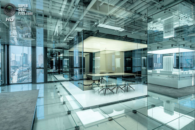 Смелый проект нового офиса девелоперской компании SOHO в Шанхае