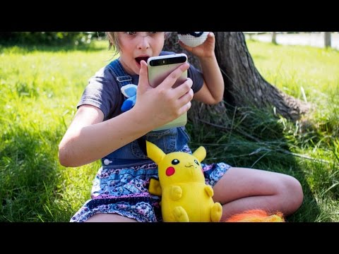 Покемон ГО Игра ЗАРАЗА!  Pokemon Go Захватывает мир!