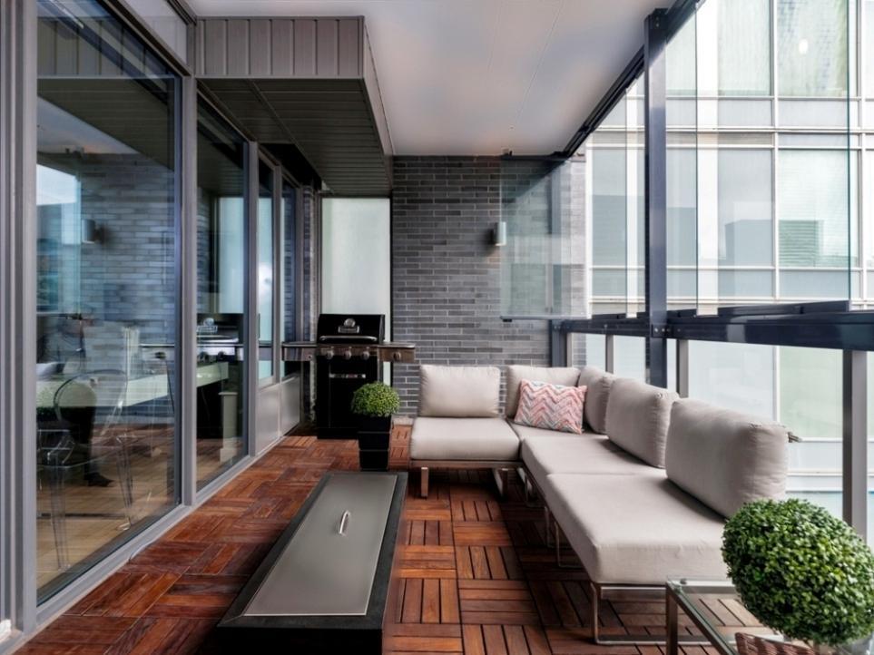 Балкон-Lumon в офисе в Торонто