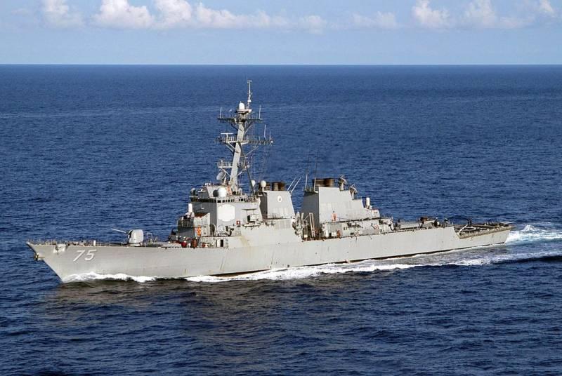 В Чёрное море зашел американский эсминец