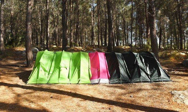 RhinoWolf – модульная палатка для кемпинга на 1 или 100 человек