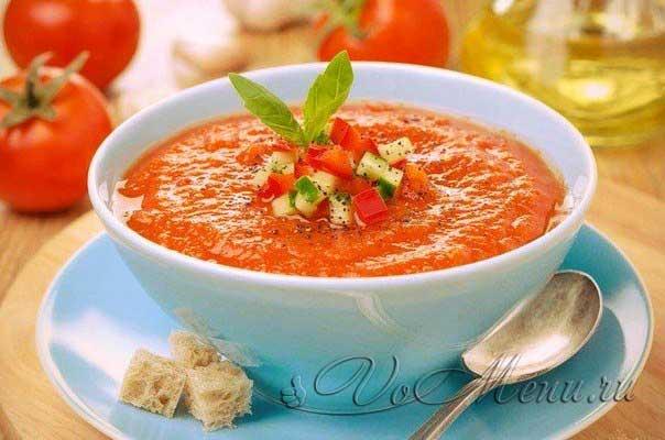 Гаспачо рецепт в домашних условиях