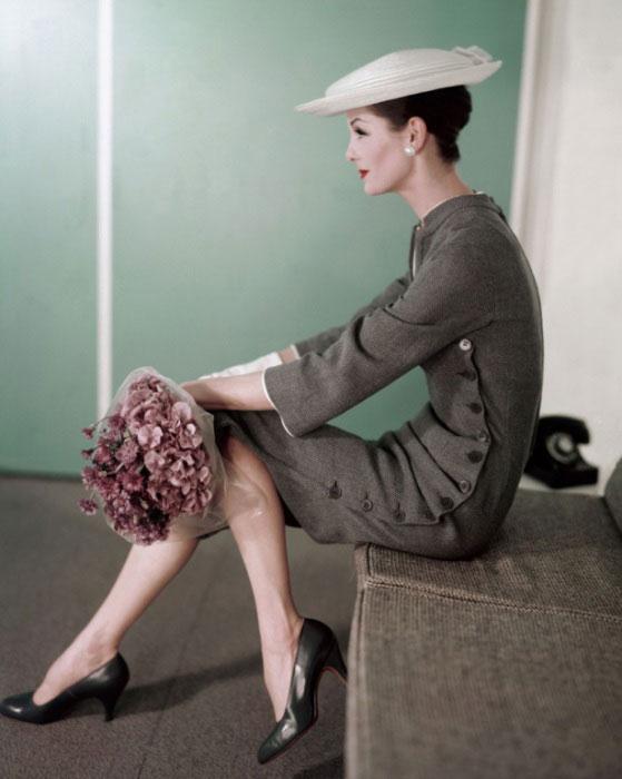 Безупречные образы девушек в издании «Vogue» 50-60-х годов