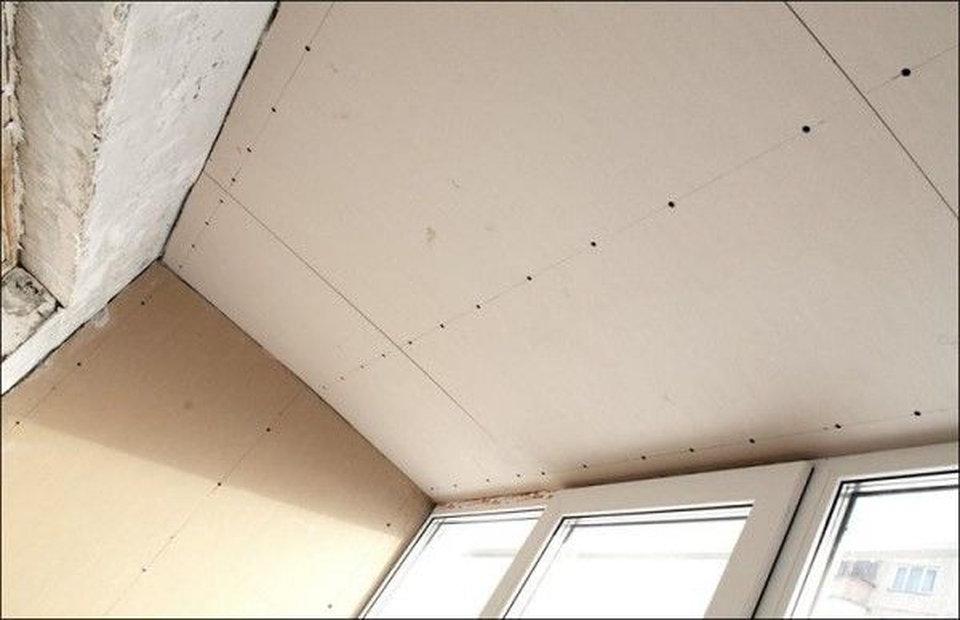 Внутренняя отделка балкона: применяемые материалы, технологи.