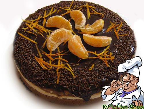Рецепт «Торт с кофейно –миндальным кремом»