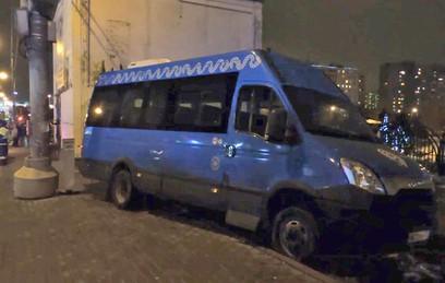 Водитель маршрутки, сбившей людей в Москве, не был пьян