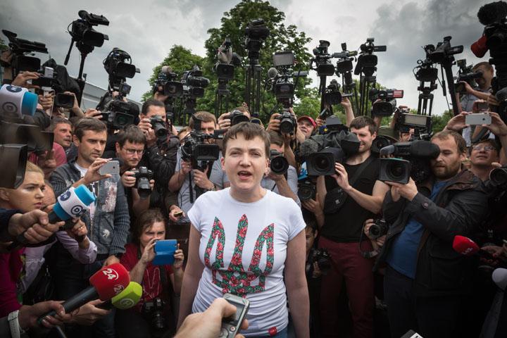 Савченко решила стать президентом Украины