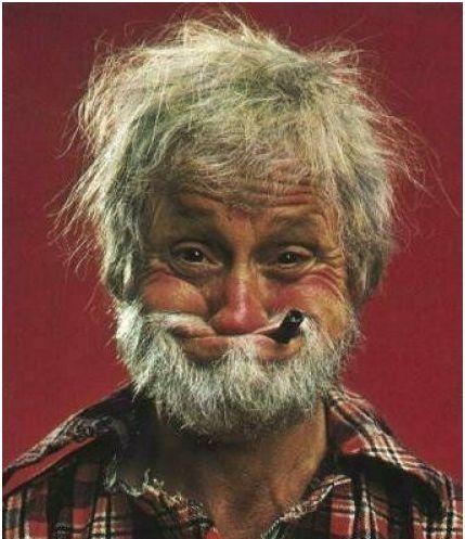 Фото смешного деда на аву