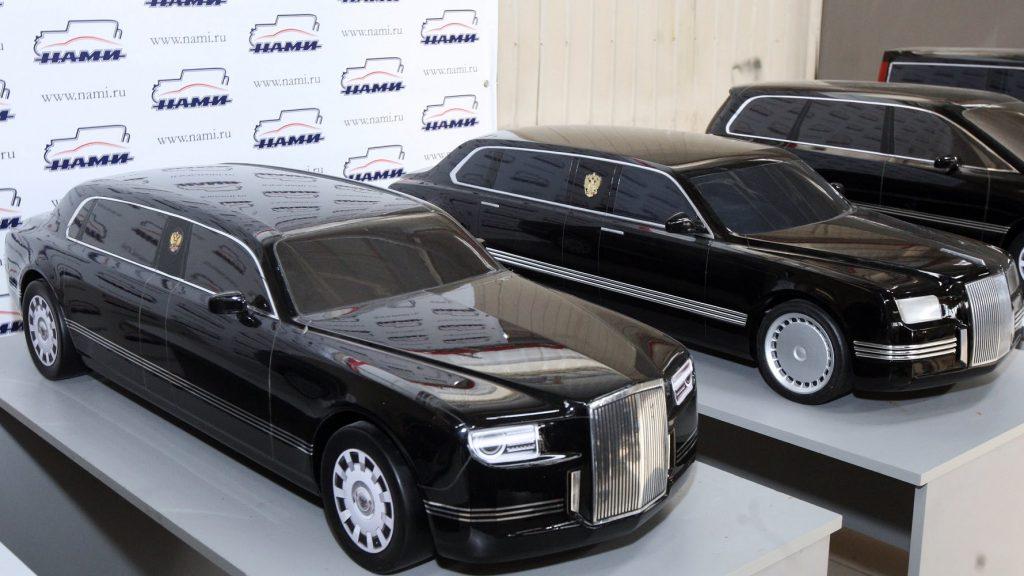 «Кортеж» на экспорт: в РФ анонсировали создание автомобильных госкорпораций