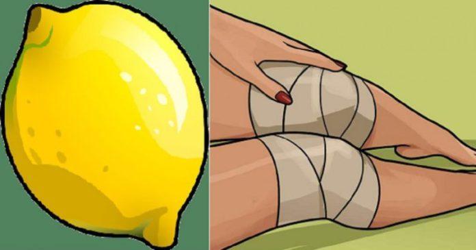 лимон для облегчения боли в колене
