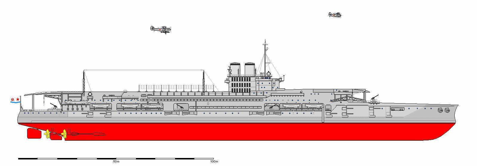 Как первый авианосец СССР в 1937 итальянцев атаковал