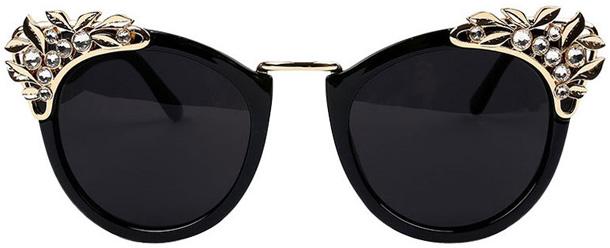 Модный декор солнцезащитных очков