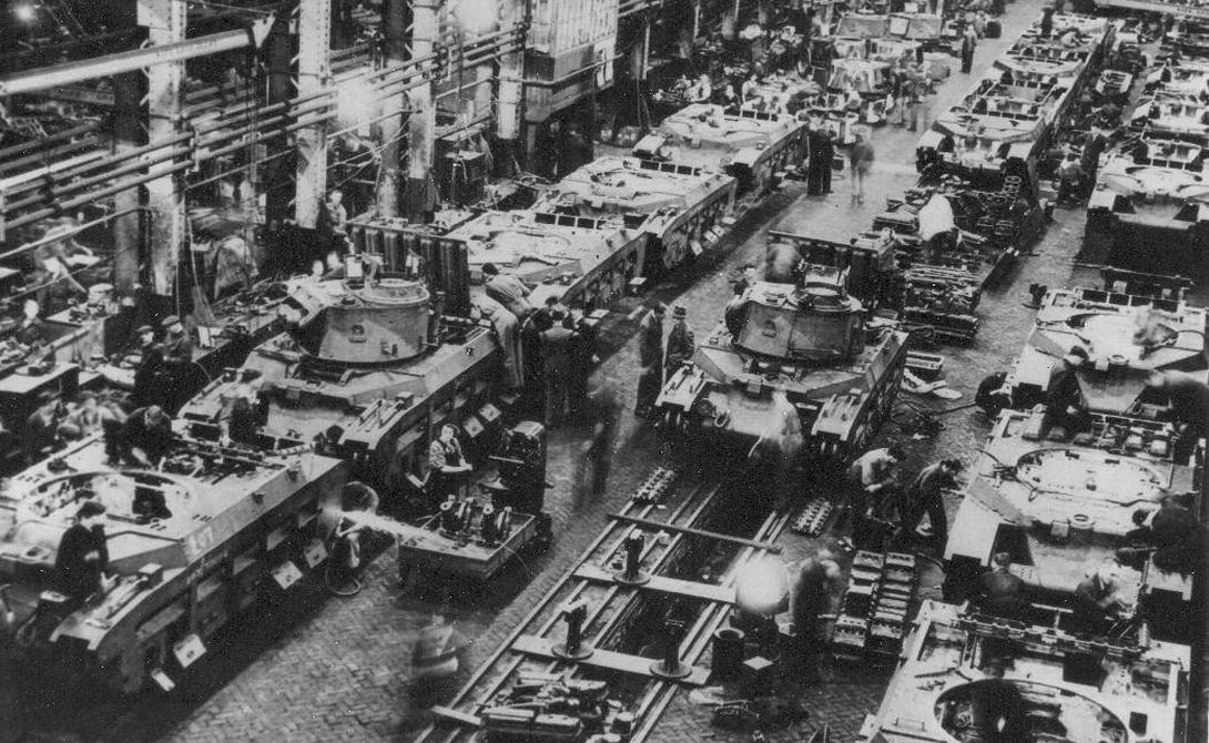 Т-34: западный след в истории создания легендарного танка