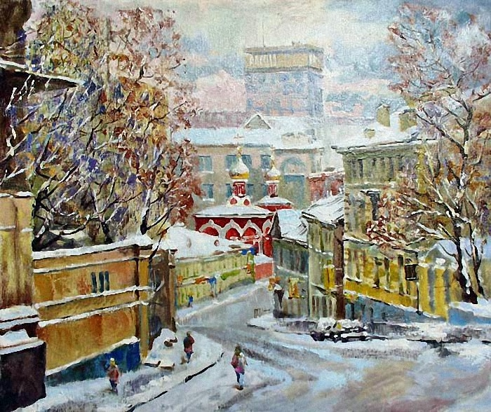 художник Валерий Изумрудов картины - 03