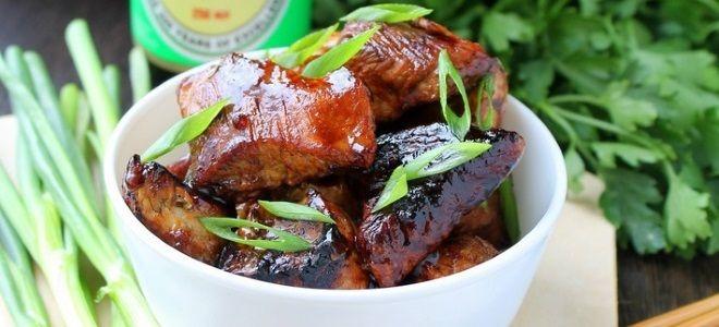 маринад для свинины с соевым соусом