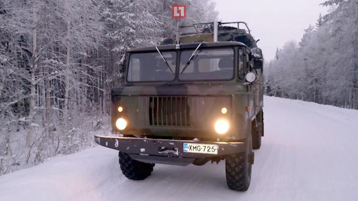 В Лапландии советский лётчик на пенсии сделал из ГАЗ-66 станцию для связи с МКС