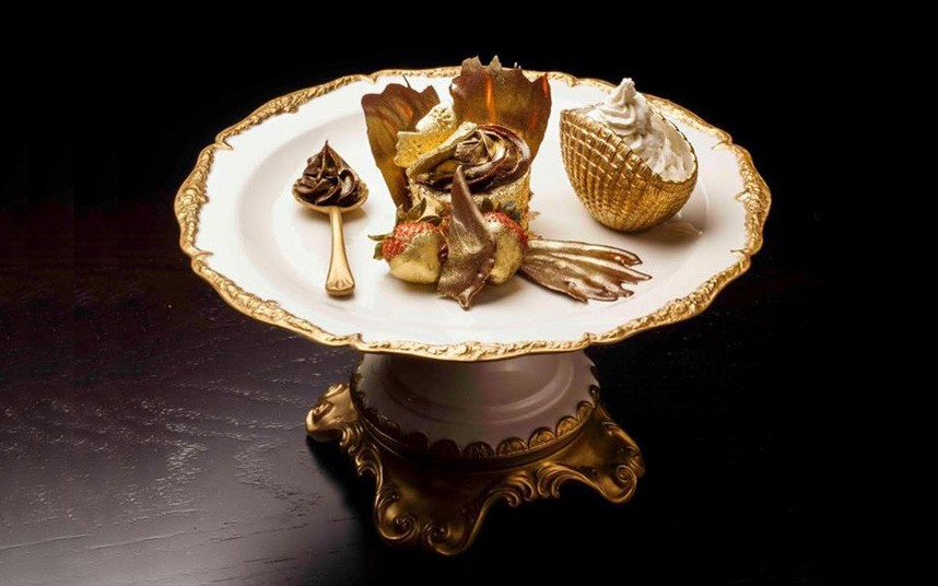 Десерты миллиардеров. Фоторепортаж