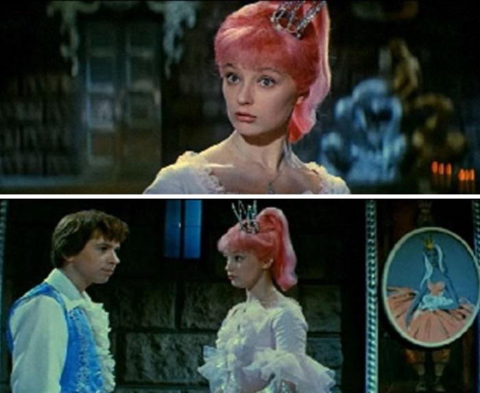 Ирина Губанова в роли принцессы-сорванца, 1966