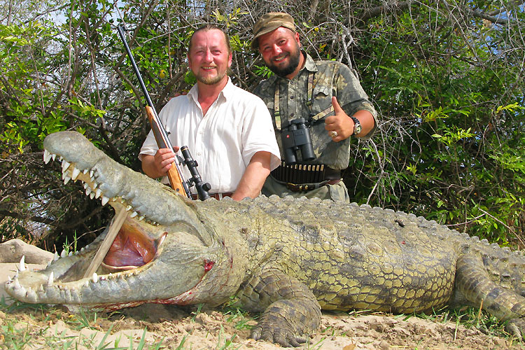 как ловить крокодилов