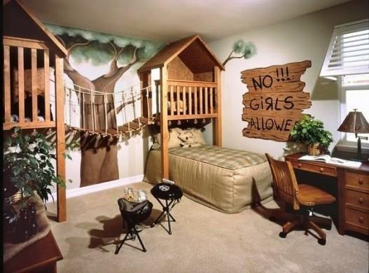 Необычный дизайн комнат