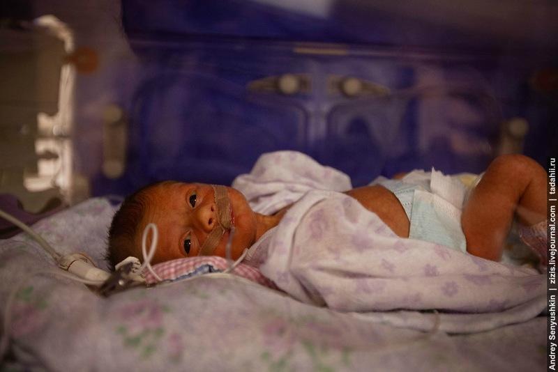 Как спасают новорожденных