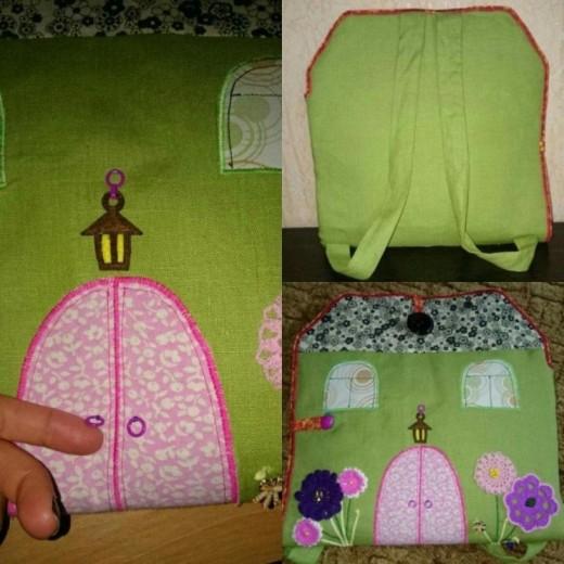 Чудесная идея домика для девочки!Сделай сам