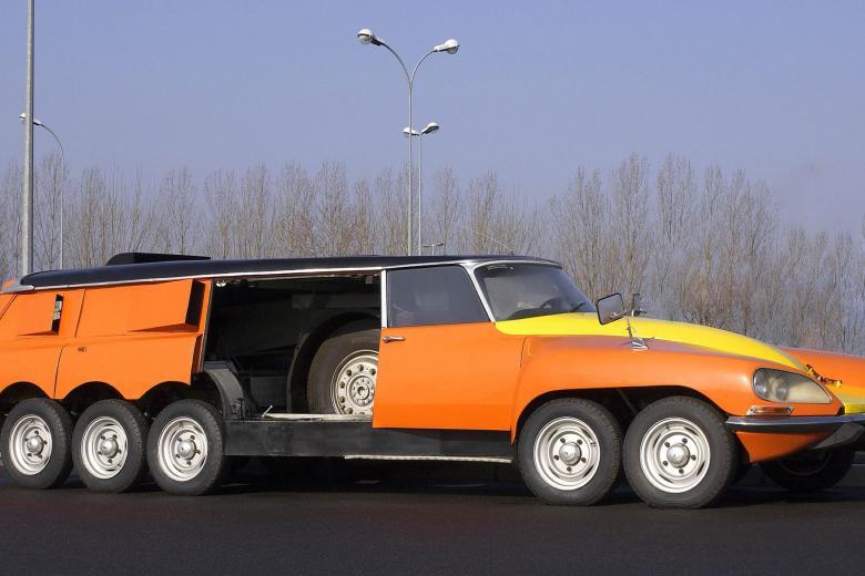 Нестандартные автомобили для необычных задач