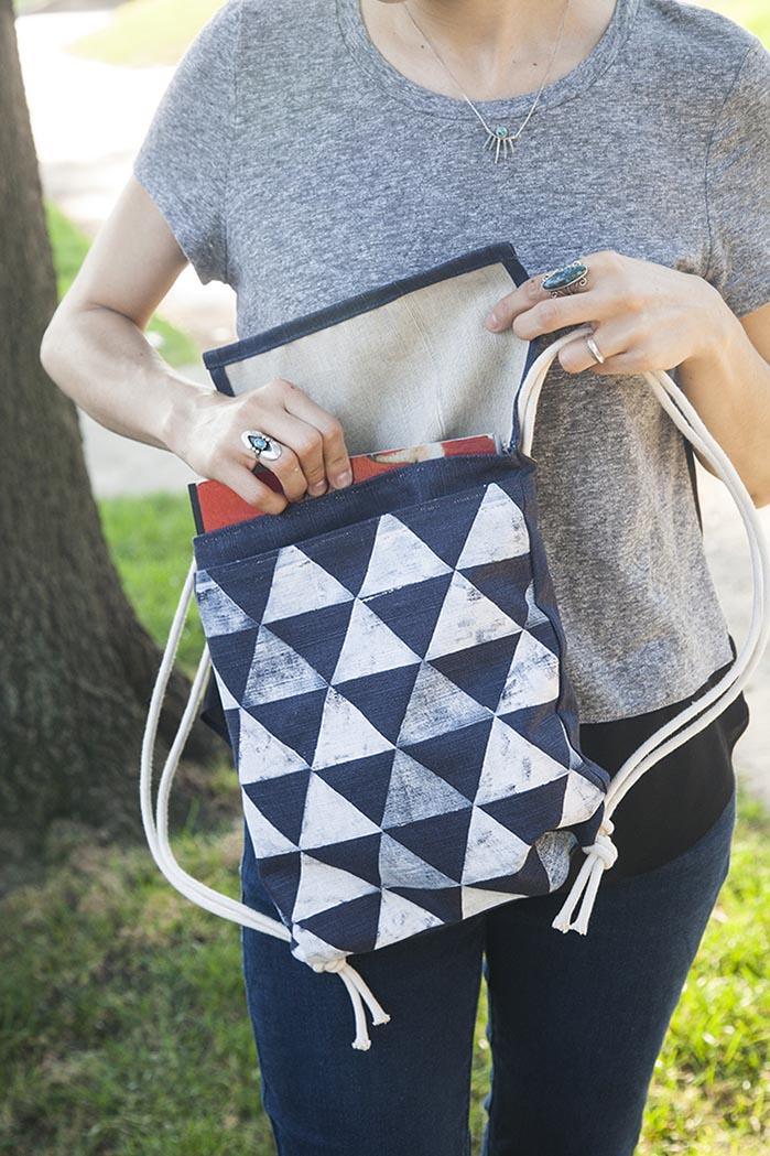 Как сделать рюкзак из ткани своими руками в домашних условиях 31