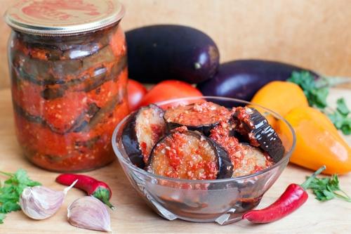 Баклажаны на зиму вкусный заготовки
