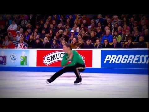 Фигурист вышел на лед, чтобы показать… ирландский танец. Зрители были в восторге