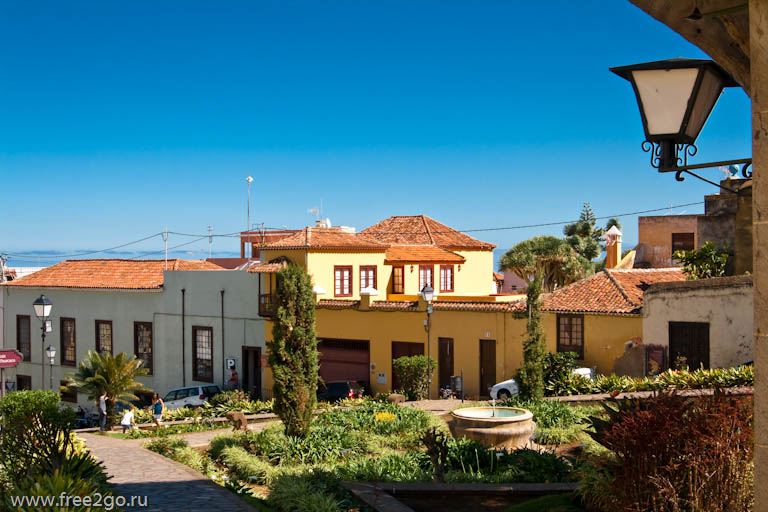 Старинные города – Тенерифе, Канарские острова, Испания.