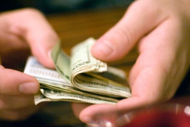 Фото. Большие деньги