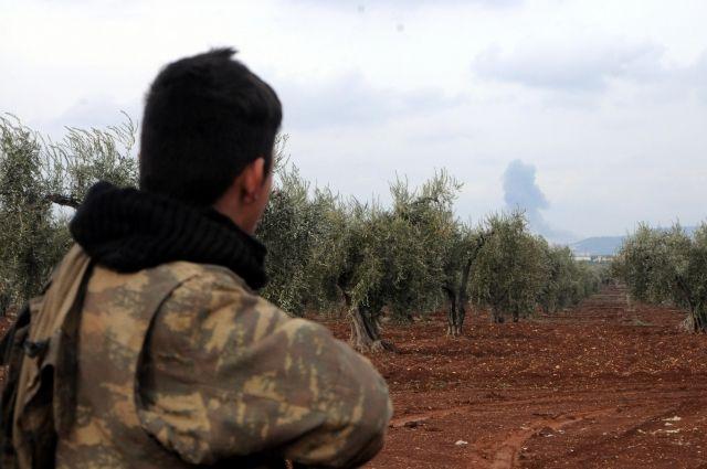 Курды атаковали сирийскую оппозицию близ Африна