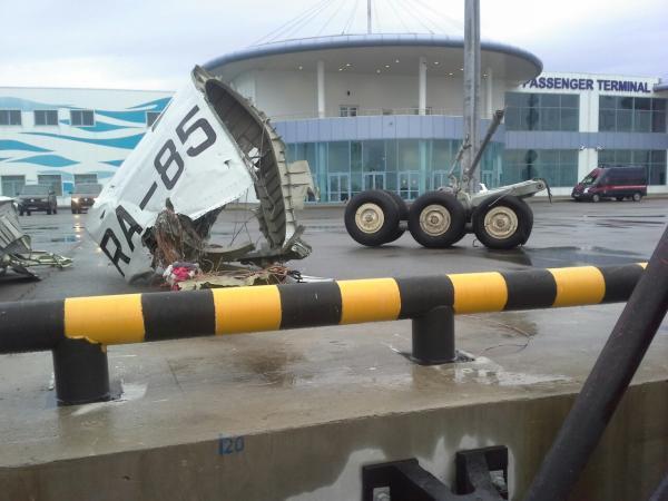 Хватит писать ерунду! Самолет разбился ИМЕННО из-за закрылков!