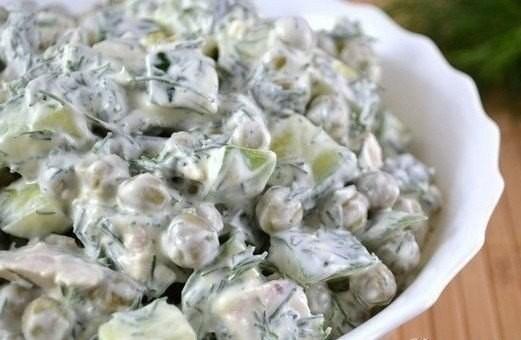 В копилку лучших рецептов — салат «Кучеряшка»