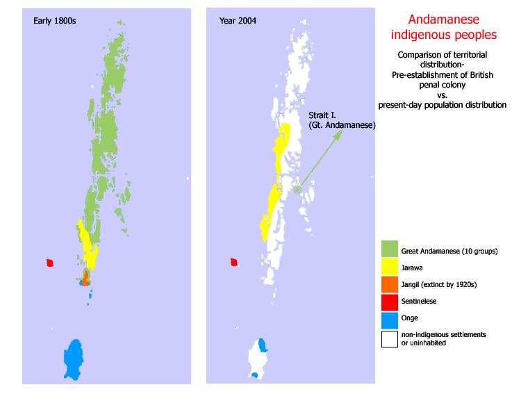Джарава (ещё один неконтактный народ на Андаманских островах) изоляция, народы, неконтактные народы, племена, самоизоляция, удивительный мир, этносы