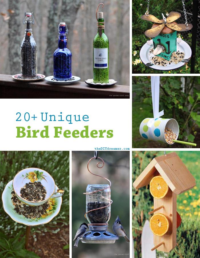 20 уникальных кормушек для птичек