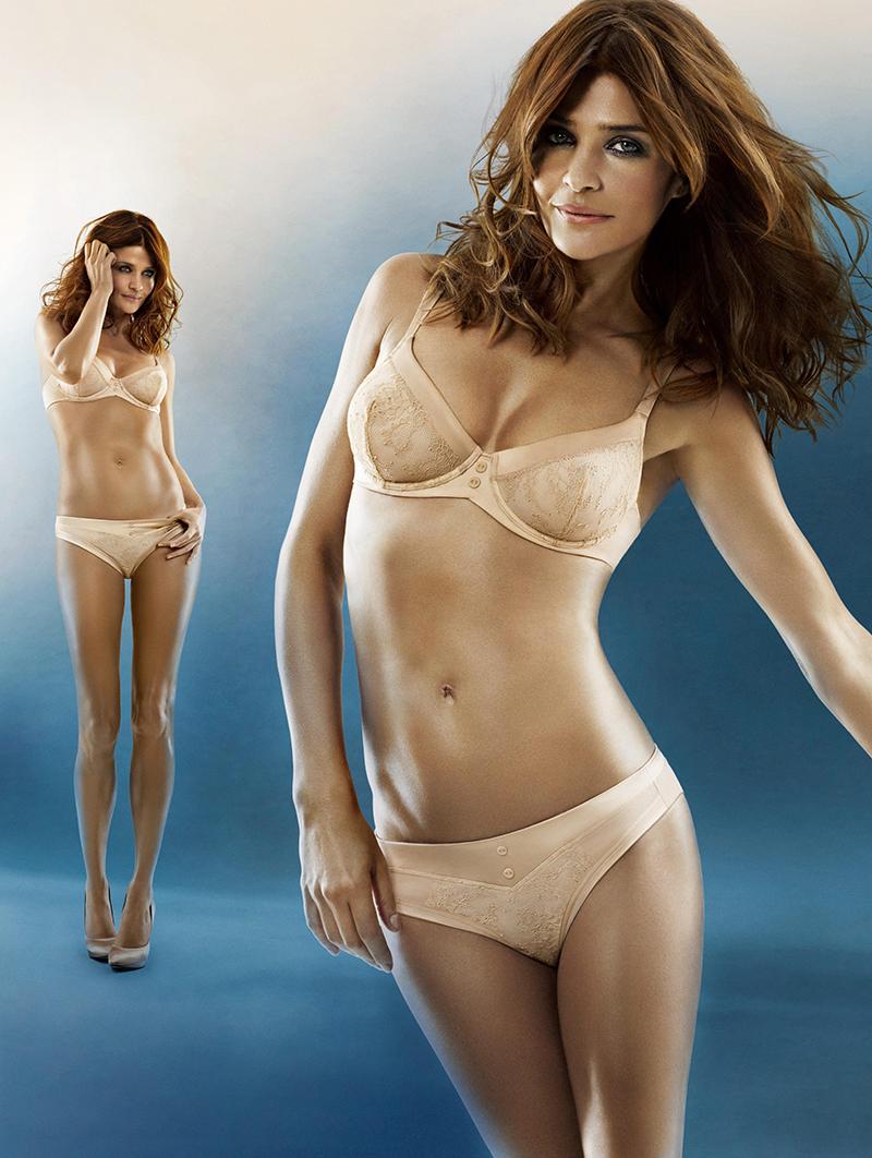 Фотосессия для рекламы нижнего белья Triumph осень-зима 2011