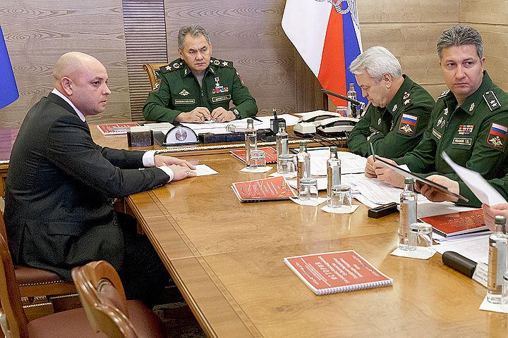 Сергей Шойгу провел прием граждан в доме Правительства